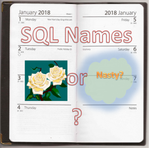 SQL Naming Conventions prevent bad SQL Smells