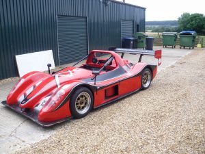 Side view of Radical SR08