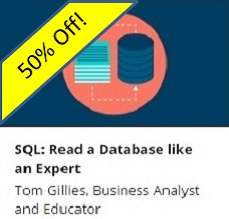 Read SQL like an Expert - 50% Off